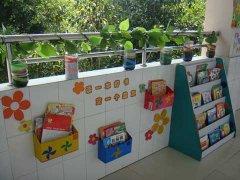 幼儿园图书角环境布置:走廊上的图片角图片