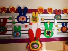 漂亮的三只小猪 最后更新:2014-02-15 幼儿园中班主题墙布置:春天森林图片