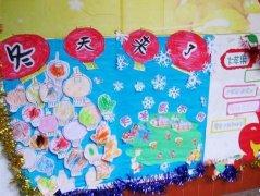 秋天的画报 最后更新:2014-07-10 幼儿园秋天主题墙饰设计:丰收的秋天图片