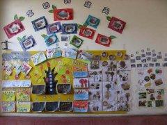 幼儿园冬天主题墙设计:冬天来了图片