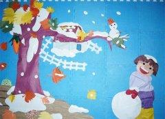 小学教室布置图片:采蜜角图片