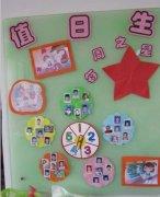 幼儿园值日生表布置_幼儿园值日生布置图片_幼儿园值日生墙饰布置图片