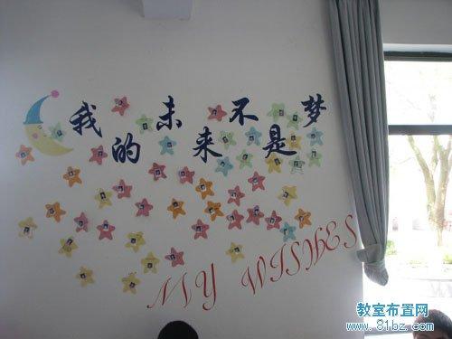 高中教室文化布置图片:励志标语图片