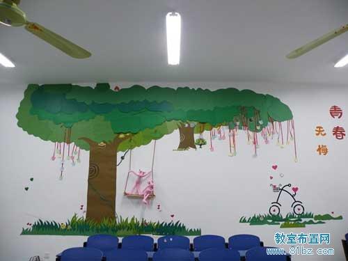 大学教室墙面布置图片内容|大学教室墙面布置图片版面设计