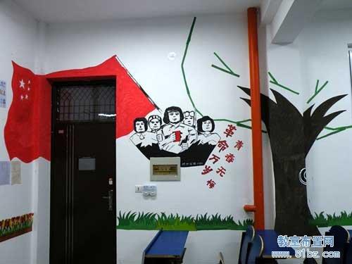 大学文学院教室文化布置(3)
