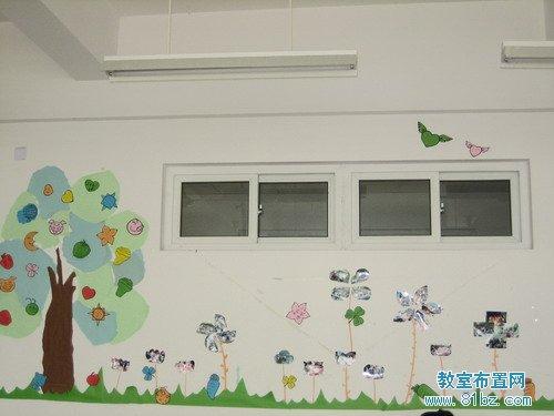 大学教室墙面布置图片:花草树木图片