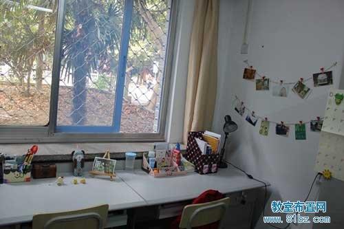 大学宿舍 寝室布置图片 温馨的家 2