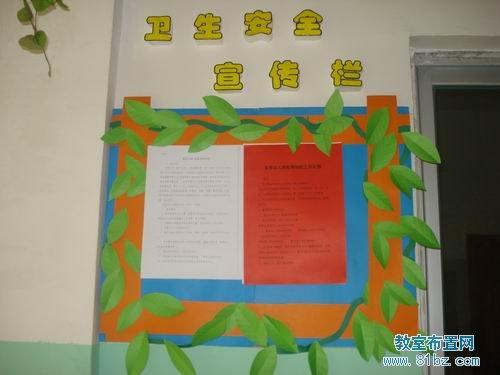 幼儿园宣传栏布置图片 卫生安全宣传栏