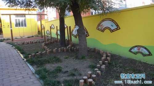 幼儿园室外整体环境布置