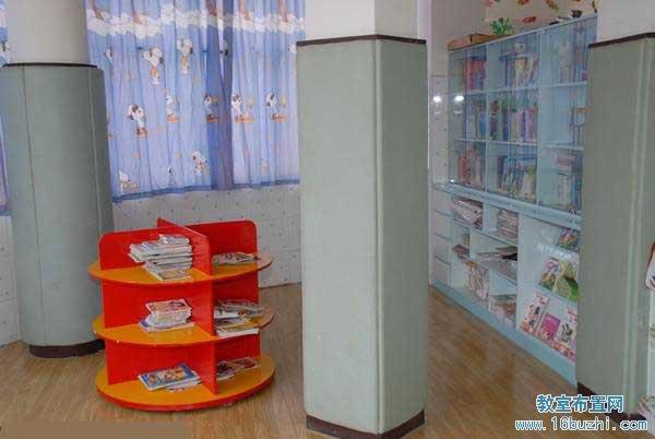 幼儿园中班图书角布置(3)