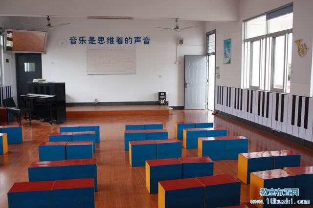 初中音乐教室布置:音乐是思维的声音图片