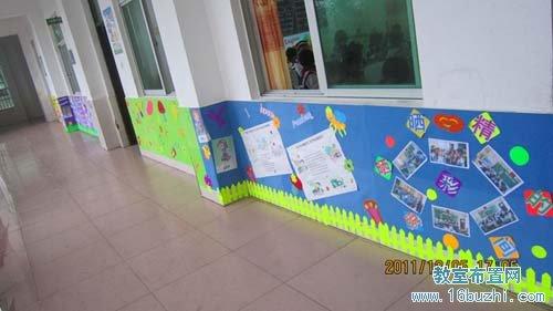 幼儿园教室外墙装饰:晒晒精彩