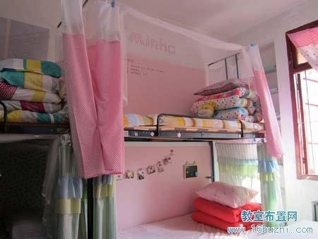 幼儿园毛巾_大一女生宿舍装饰:粉红格调_教室布置网