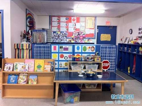 幼儿园图书角区域布置:杂而不乱