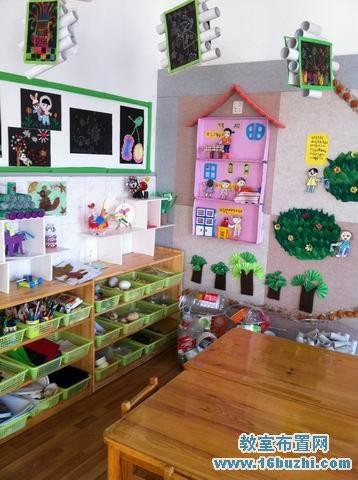 幼儿园美工区角布置