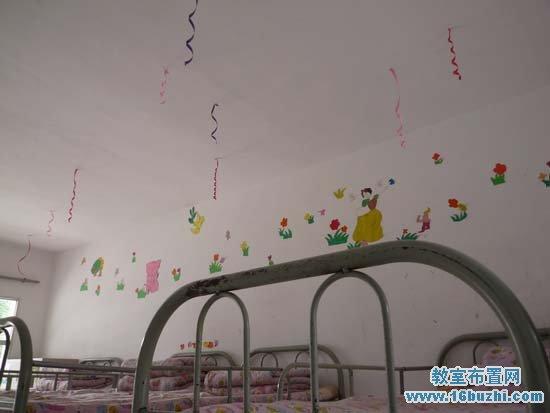 小学生宿舍墙面布置 白雪公主