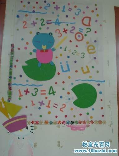 初中教室布告栏设计_教室布置网