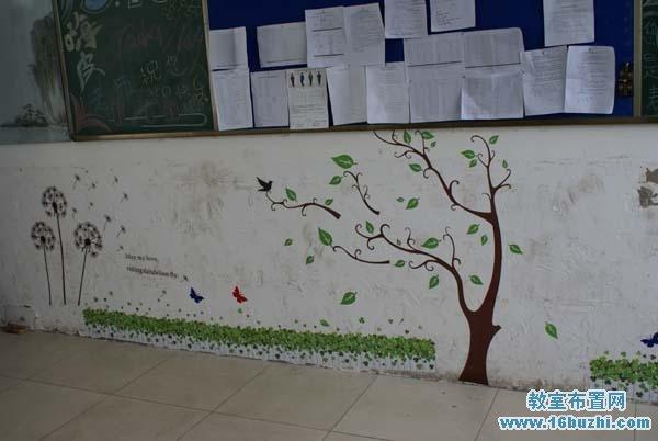 高中教室后墙面装饰图片图片