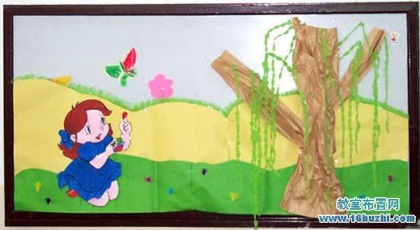 幼儿园夏天主题墙布置