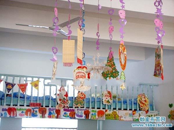 幼儿园圣诞节吊饰装饰