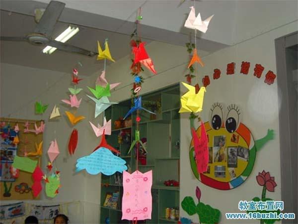 幼儿园感恩节吊饰装饰