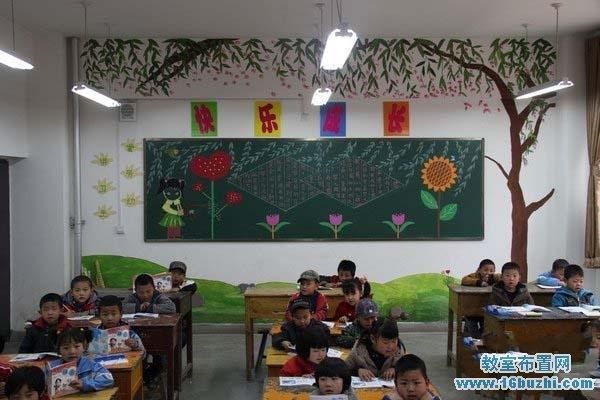 一年级教室布置图片