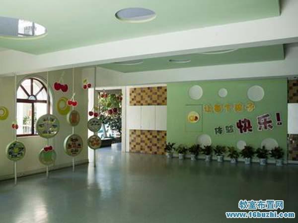幼儿园门厅环境布置图片