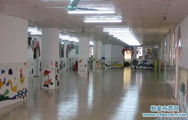 幼儿园大厅墙面装饰布置