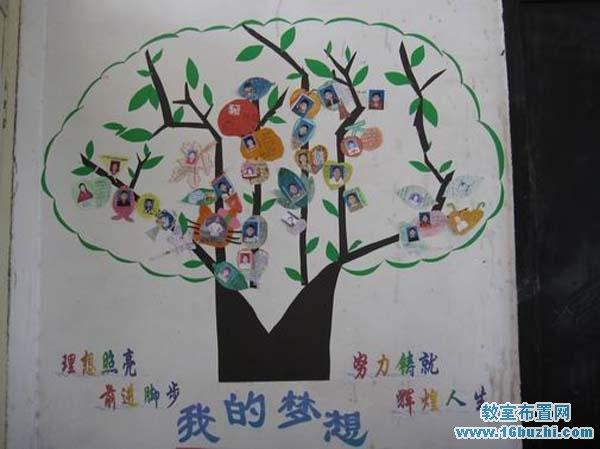 七年级班级墙壁装饰_教室布置网