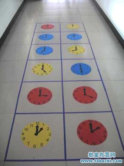 幼儿园走廊地面布置图片