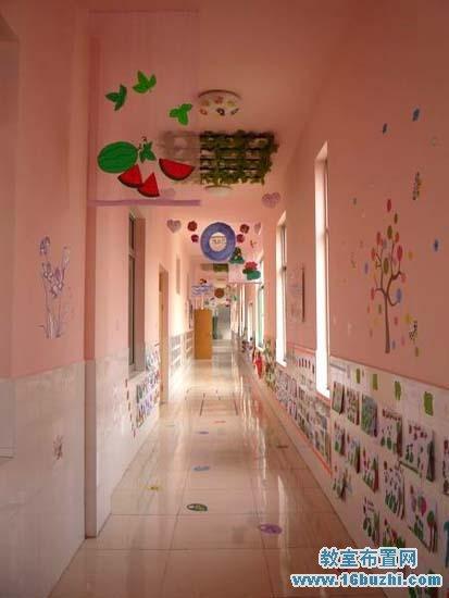 幼儿园走廊环境布置图片