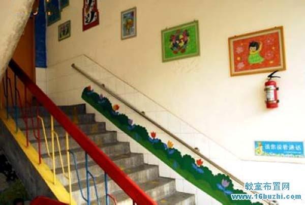 幼儿园楼梯墙面装饰画