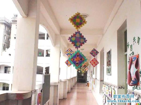 幼儿园教学楼楼道装饰图片