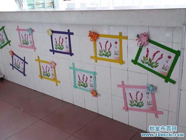 幼儿园楼道墙面关于秋天的墙绘:多彩的秋天
