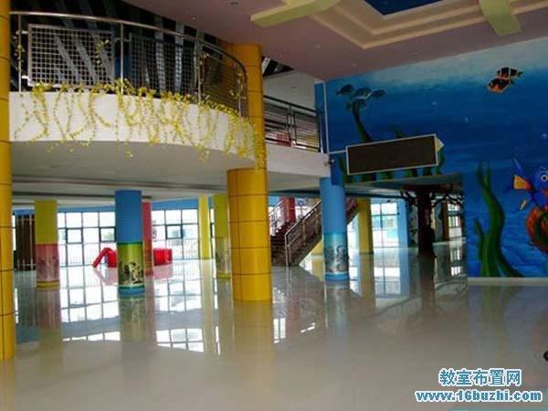 幼儿园教室布置 幼儿园门厅设计                     幼儿园一楼大厅