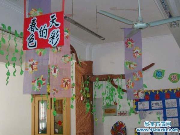 幼儿园春天吊饰布置:春天的色彩