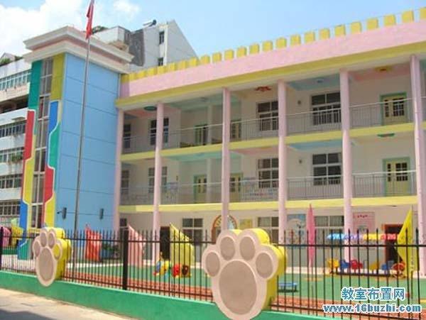幼儿园围墙栏杆设计图片