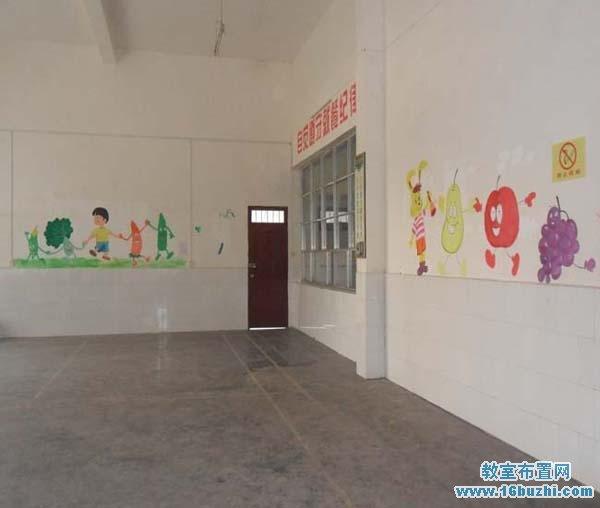 幼儿园食堂墙面设计图展示
