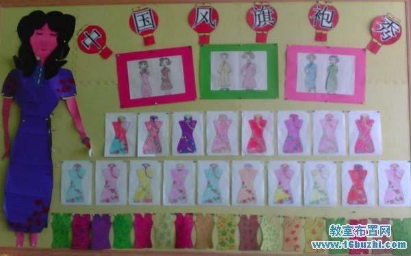 幼儿园可爱的小动物主题墙饰设计