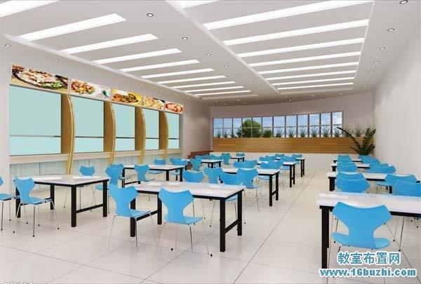 学校餐厅设计效果图
