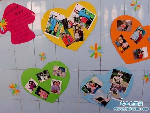 幼儿园中班三八节环境布置图片