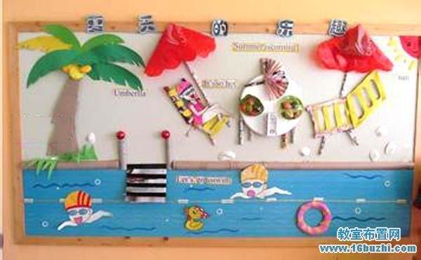 幼儿园教室布置 幼儿园夏天教室布置    与您的朋友分享本图片:qq空间