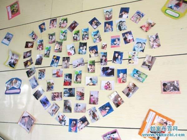 幼儿园母亲节教室墙面装饰图片