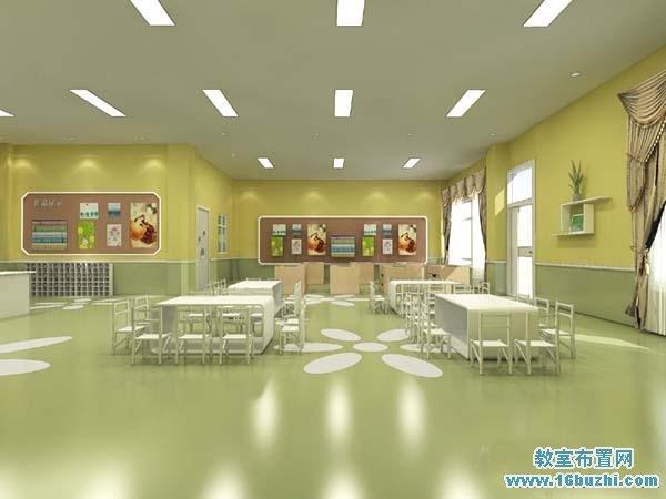幼儿园教室装修设计效果图