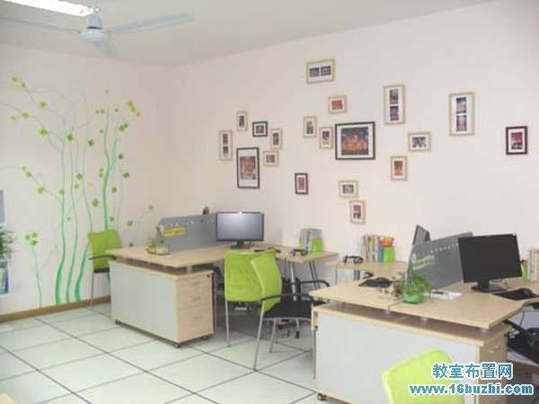 幼儿园办公室墙面布置图片大全