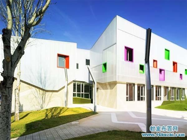 国外幼儿园建筑设计图片