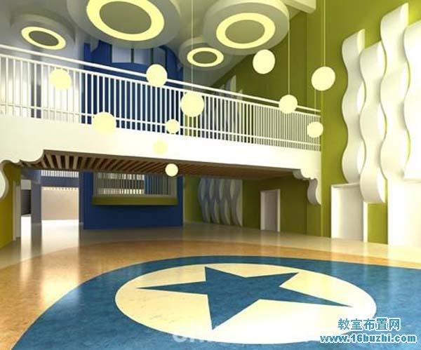 幼儿园入门大厅装修效果图