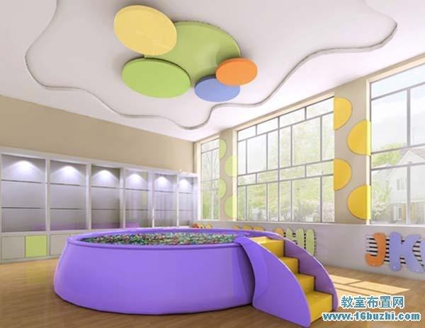 青岛胶州新城幼儿园墙面设计幼儿园室内设计图片