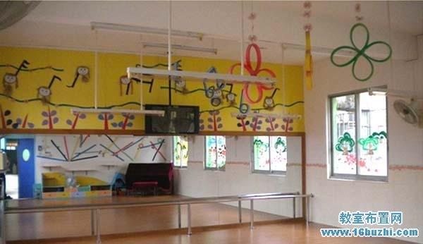 幼儿园楼道吊饰装饰_教室布置网