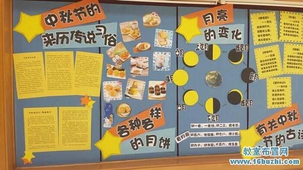 幼儿园中秋节超市区角布置:月饼超市